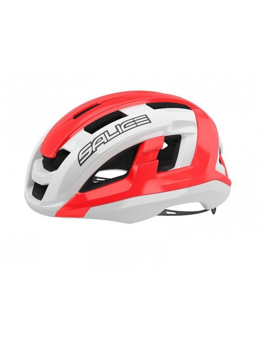 Salice model Gaiva WHITE-RED Cycling Helmet