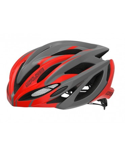 Salice model Ghibli CHARCOAL-RED Cycling Helmet