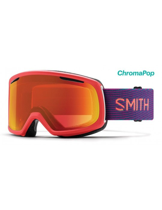 Smith Optics Riot color Frequency Red Ski Goggles Unisex