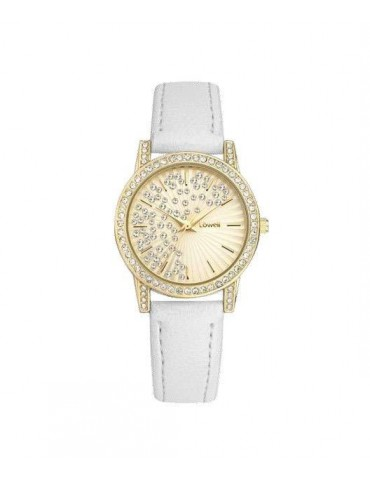 Lowell PL5192-5822 Gold 32mm Woman Watch