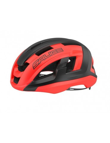 Salice model Gaiva BLACK-RED Cycling Helmet