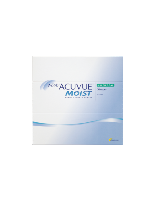 1-Day Acuvue Moist Multifocal 90 contact lens multifocal
