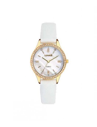 Lowell PL5193-6121 Gold 32mm Woman Watch