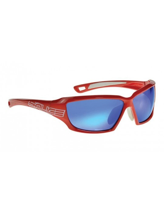 Salice model 003 RED/RW BLUE Unisex Sport Sunglasses