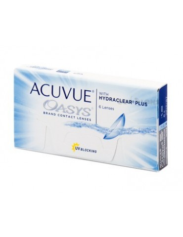 Acuvue Oasys 6 monthly lenses