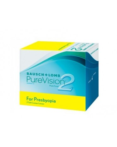 Purevision 2 for presbyopia 3 lenses