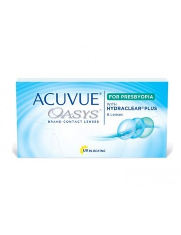 Acuvue Oasys for Presbyopia 6 monthly lenses
