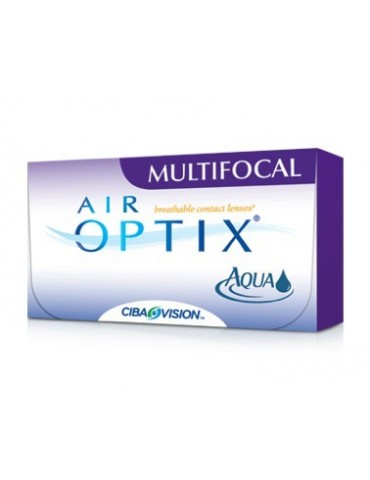 Air Optix Multifocal 3 monthly lenses