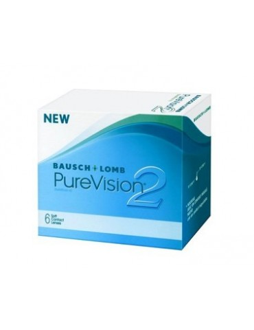 Baush Lomb PureVision 2 HD 6 monthly lenses