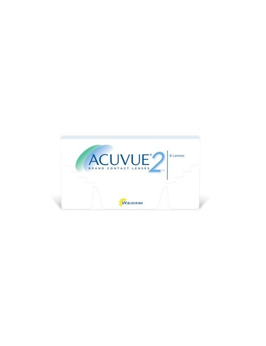 Acuvue 2 contact lens with 6 pieces - fortnightly