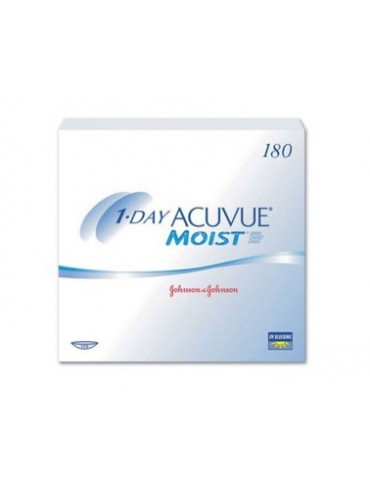 1-Day Acuvue Moist 180 Daily Contact Lenses