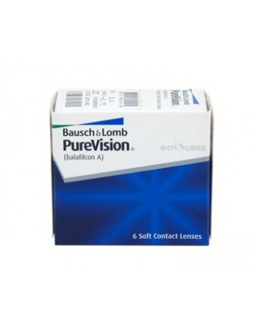Baush Lomb PureVision HD 6 monthly lenses