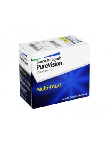 Purevision Multifocal 6 lenses