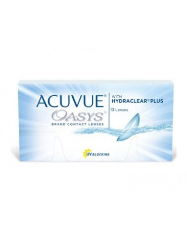 Acuvue Oasys 12 contact lenses
