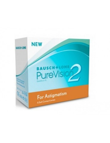 Purevision 2 HD for Astigmatism 6 monthly lenses