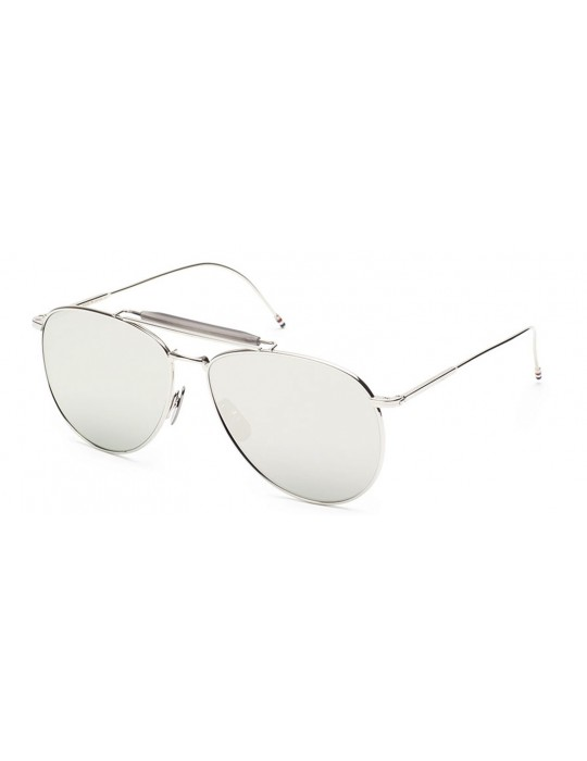 Thom Browne TB 015 LTD SLV Unisex Sunglasses