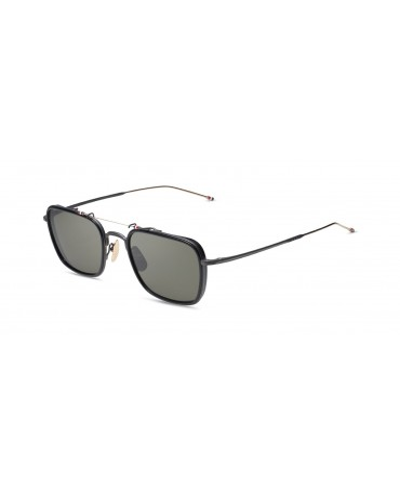 Thom Browne TBS 816 53 01 BLK GLD Unisex Sunglasses
