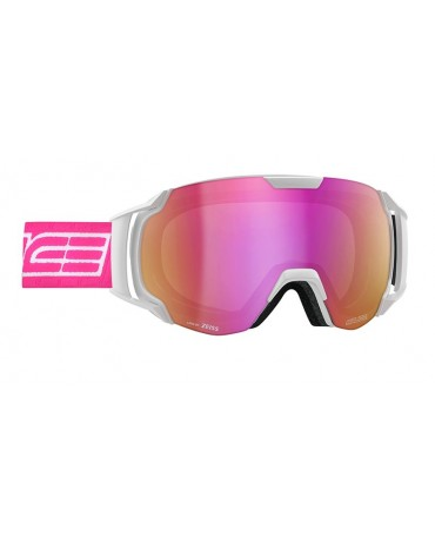 SALICE model 619 color WHITE/RW VIOLET Unisex Ski Goggles