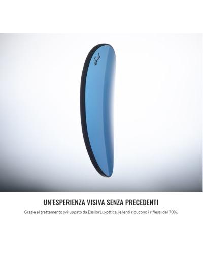 Salice model 609 color CHROME/RW SILVER Unisex Ski Goggles