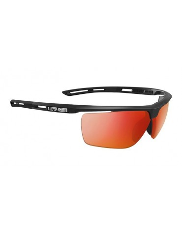 Salice model 019 BLACK/RW RED Unisex Sport Sunglasses