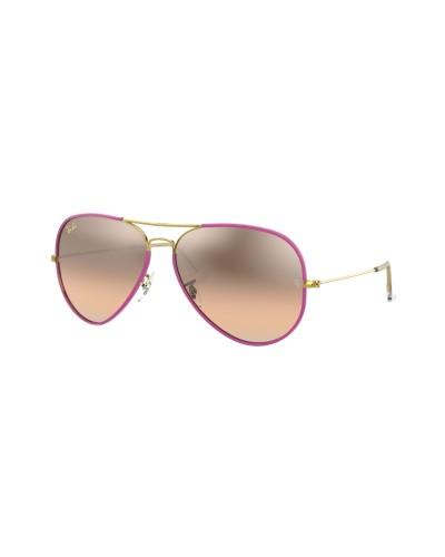 Salice modello 021 BIANCO/RW ORO Occhiali da Sole Sportivi Unisex