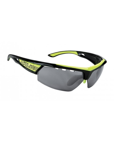 Salice modello 005 NERO-GIALLO/RW NERO Occhiali da Sole Sportivi Unisex