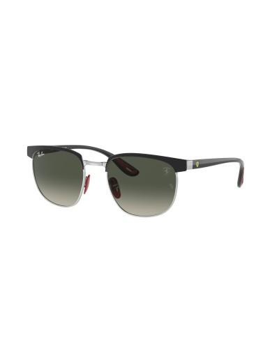 SALICE model 604 WHITE/RW BLUE Unisex Ski Goggles
