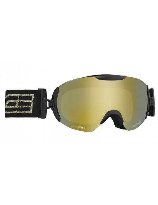 SALICE model 604 color BLACK/RW GOLD Unisex Ski Goggles