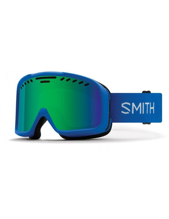 Smith Optics Project color Blue Green Sol-X Ski Goggles Unisex