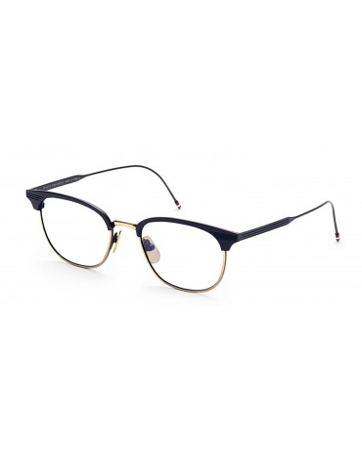 Thom Browne TB 104 C NVY GLD 51 Unisex Eyewear