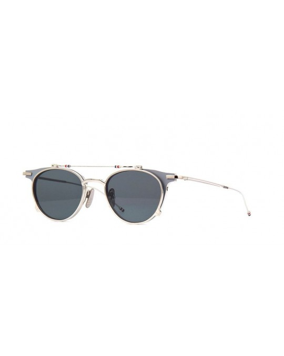 Thom Browne TBS 814 49 02 GRY SLV Unisex Sunglasses