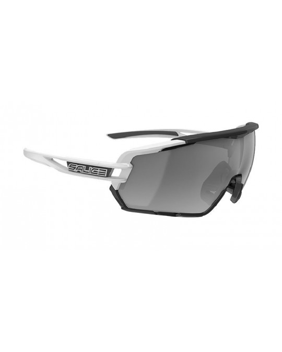 Salice modello 020 BIANCO/RW NERO Occhiali da Sole Sportivi Unisex