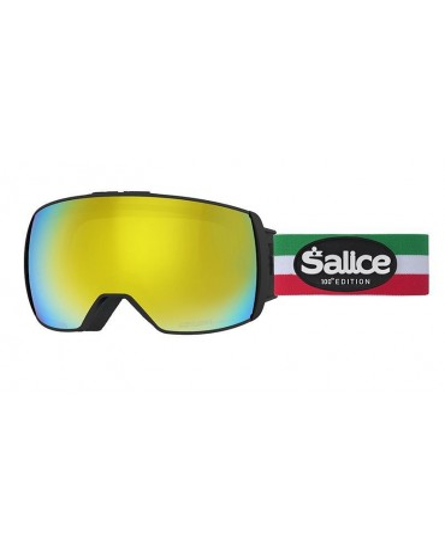 SALICE 605 OTG NERO/RW GIALLO Centennial Edition Maschera da Sci