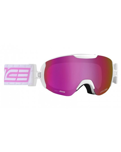 SALICE model 604 WHITE/RW VIOLET Unisex Ski Goggles