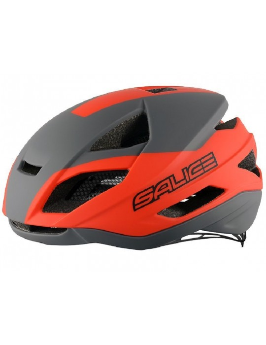 Salice model Levante CHARCOAL-RED Cycling Helmet