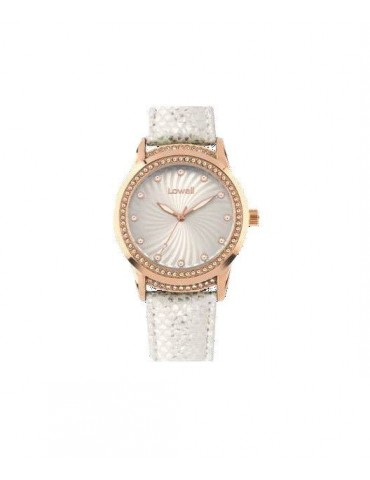 Lowell PL5195-5121 White 40mm Woman Watch