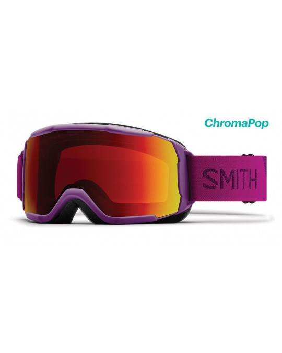 Smith Optics Showcase OTG colore Monarch Rossa Maschera da Sci Donna