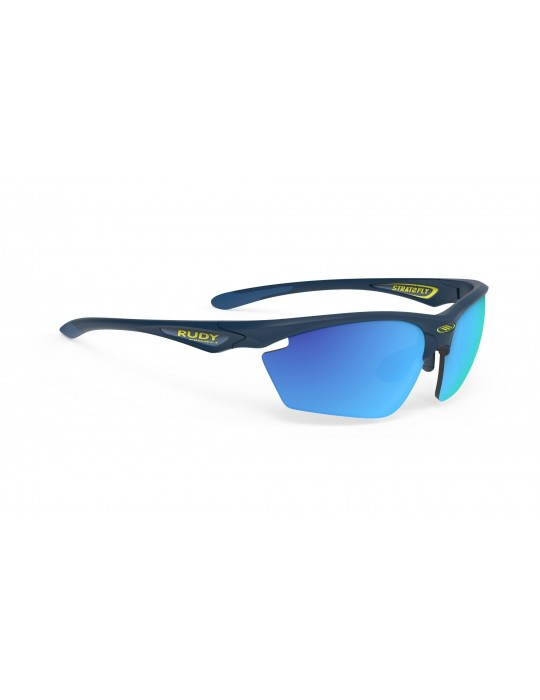 Rudy Project Stratofly color Blue Navy Matte RP Optics lens
