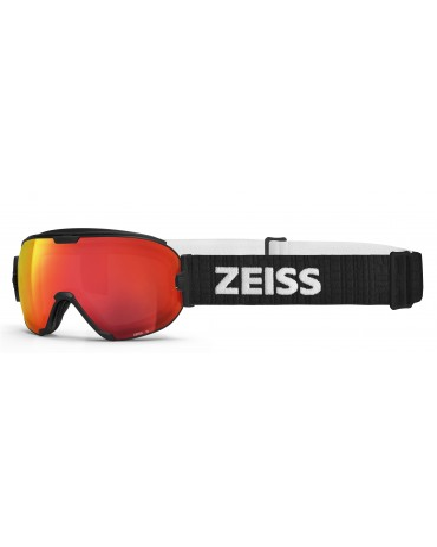 Zeiss Black multilayer Red Interchangeable Duo Maschera da Sci