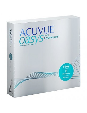 Acuvue Oasys 1 Day Contact lenses 90pcs